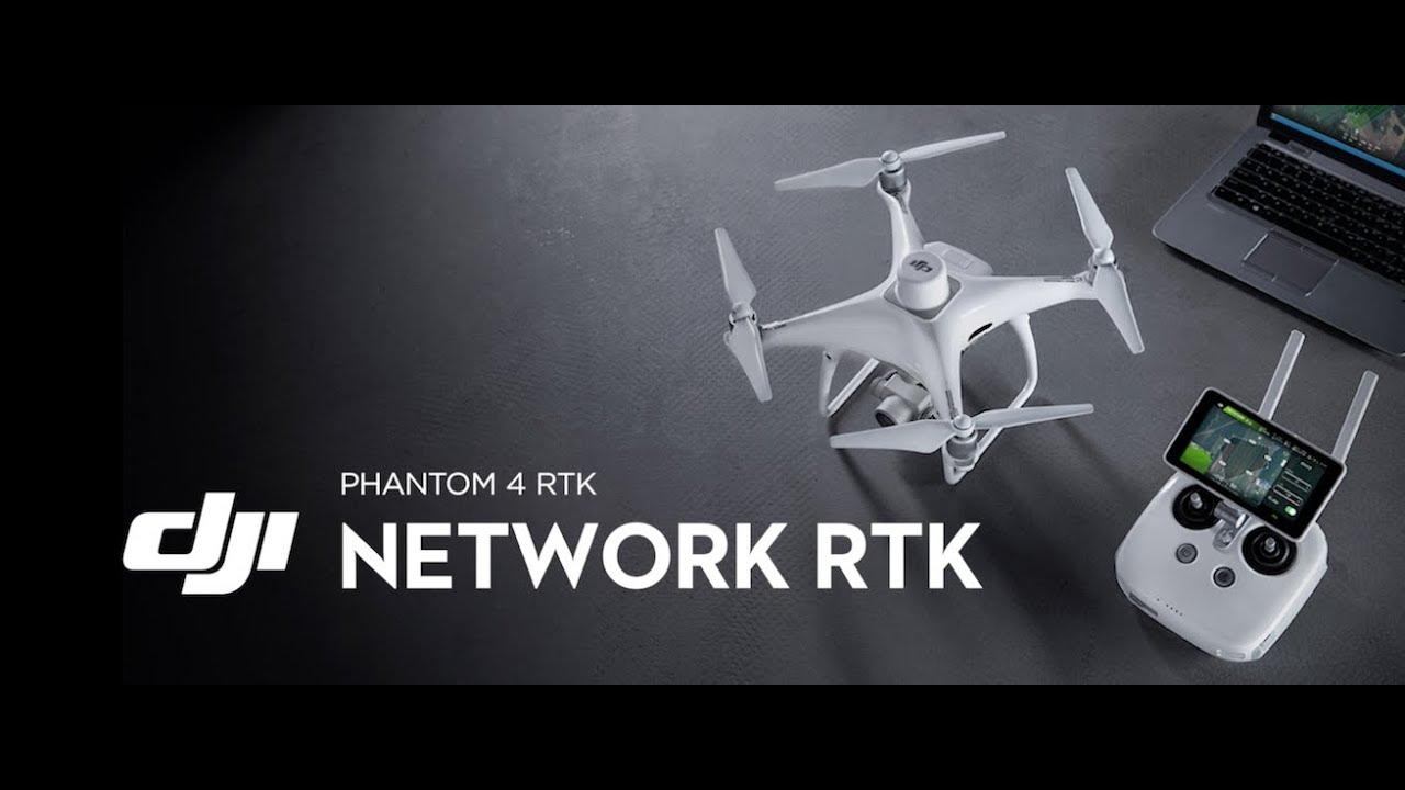 Phantom 4 RTK – Network RTK
