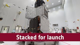 BepiColombo stacked for launch