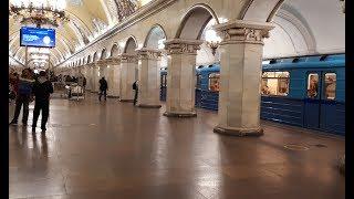 Состав Еж3/Ем-508Т на станции Комсомольская (КЛ)