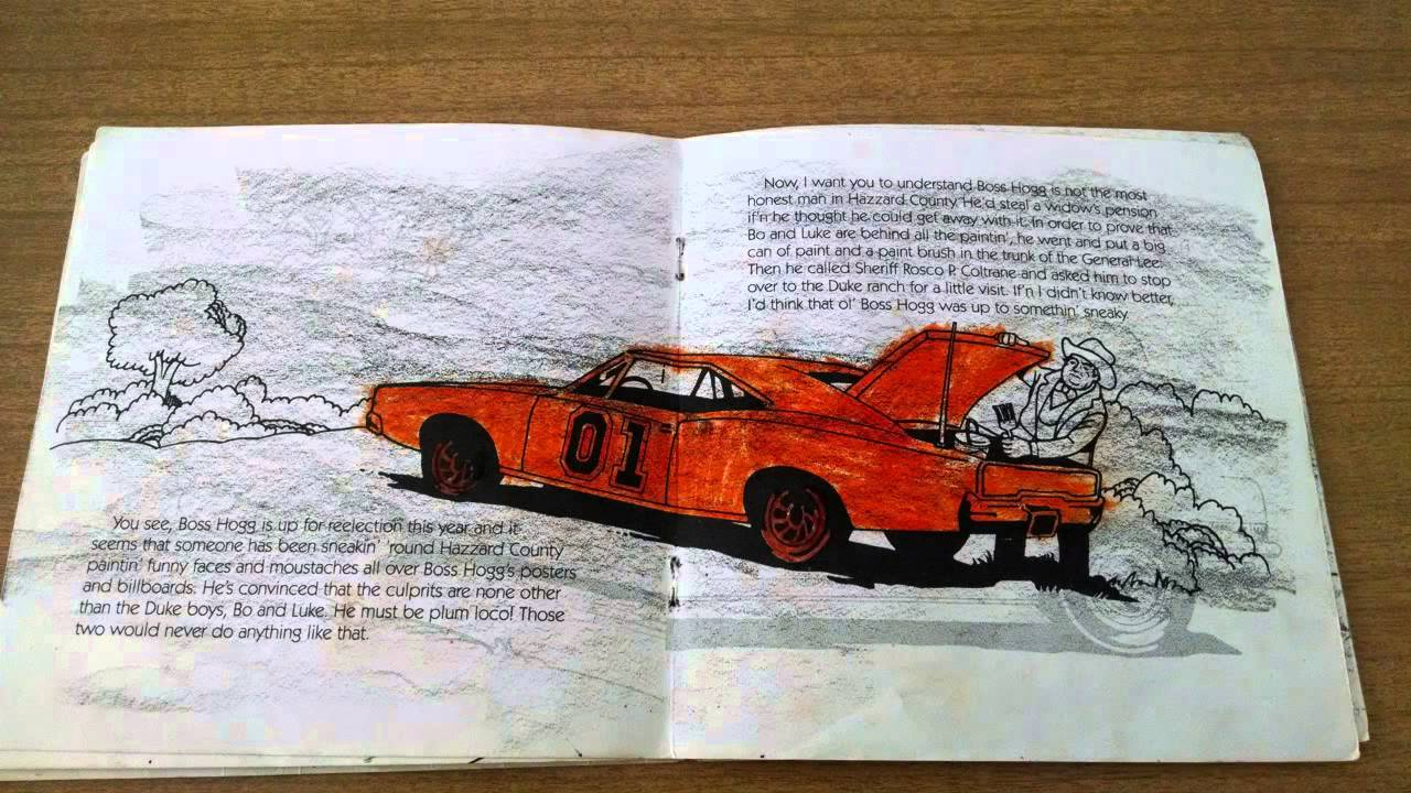 Stories from The Dukes of Hazzard 1 - Read Along Record and Book ...