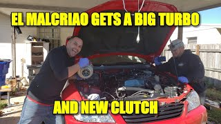 EL MALCRIAO 2JZGTE VVTI GETS A BIG TURBO AND NEW ACT CLUTCH