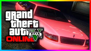 GTA 5 Rare Cars & Secret Vehicles - Pink Stretch Limo & Another Mariachi Car Spawn Location! (GTA V)