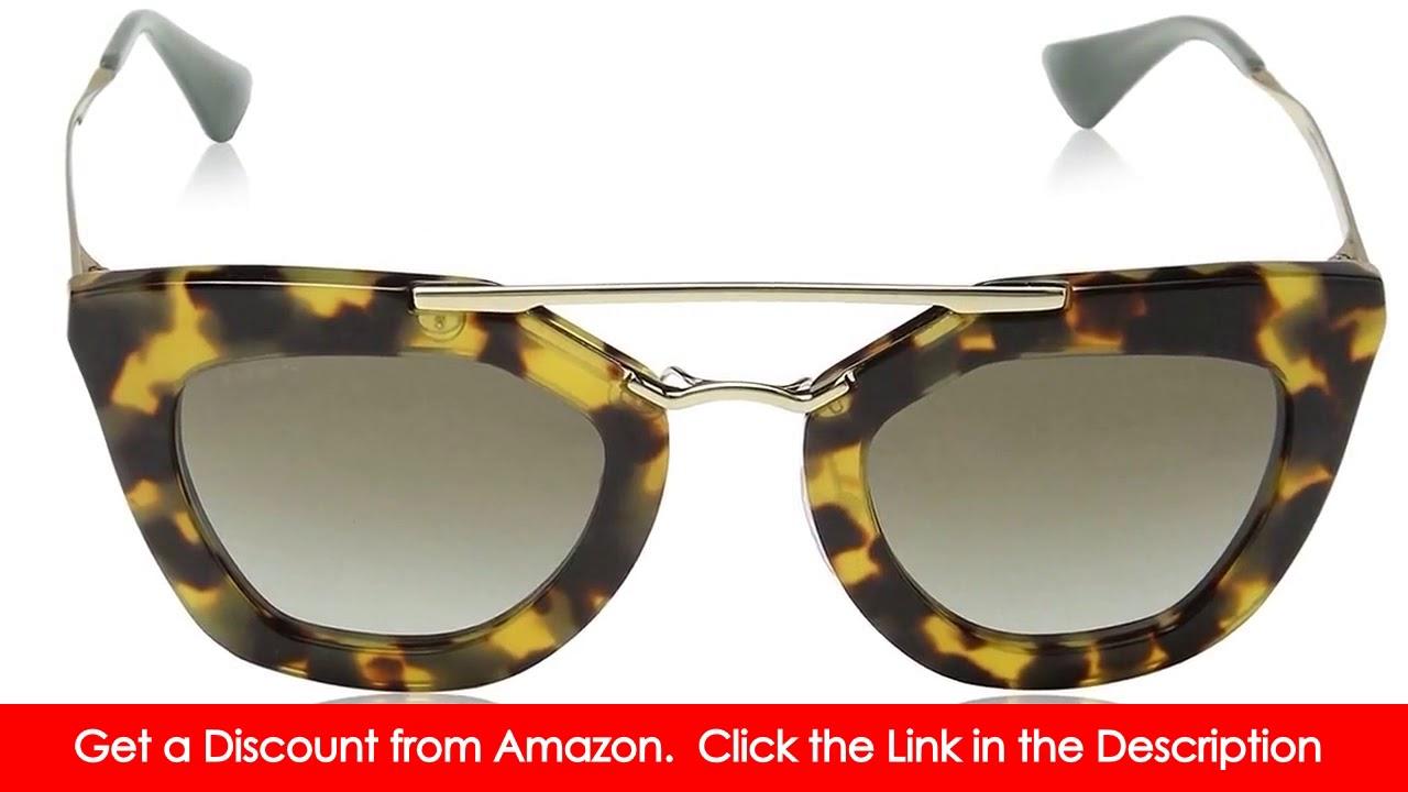 ed5c10f516 Prada Women s SPR09Q Cinema Sunglasses - YouTube