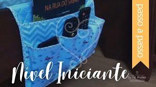 DIY : Organizador para Cama – By Fê Atelier ( Nível Fácil )