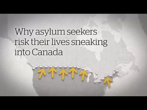 Why asylum seekers risk their lives sneaking into Canada (CBC News Explainer)