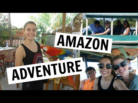 AMAZON TIDAL BASIN ADVENTURE | Peru Vlogs (#2)