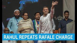 Rahul Gandhi repeats Rafale scam charge ahead of Maharashtra polls