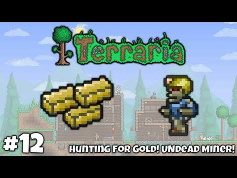 Adventures In Terraria || #12 - Hunting For Gold! Undead Miner!