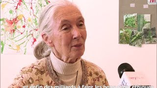 Dr. Jane Goodall et Roots & Shoots à Ivry le 15 mai 2014