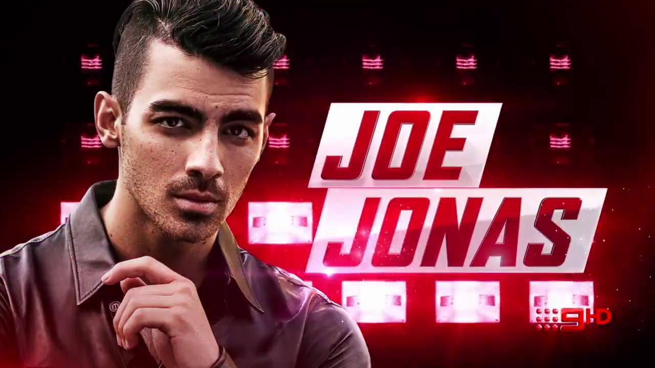 Znalezione obrazy dla zapytania joe jonas The Voice Australia
