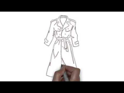 How To Draw Raincoat