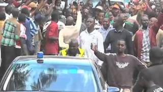 DP Ruto begins two day tour of Raila's home turf, Bondo
