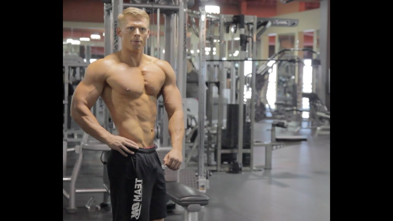 Nick Olsen swoldier nation - trainer edition - chest with nick olsen - youtube