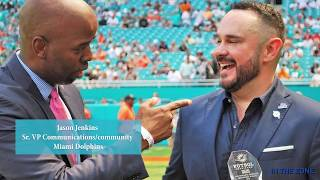 Miami Dolphins IMPACT PLAYER: IN THE ZONE with Jason Jenkins of the Miami Dolphins