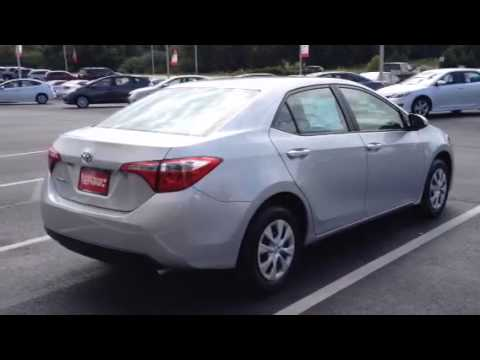 2015 toyota corolla l review by ronnie barnes youtube. Black Bedroom Furniture Sets. Home Design Ideas