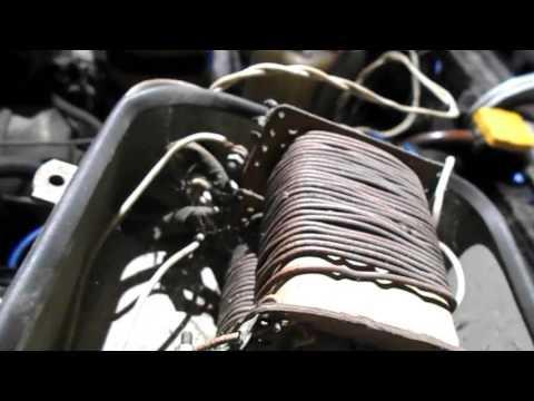 Схема электрооборудования автомобиля ВАЗ 21093, ВАЗ 21099
