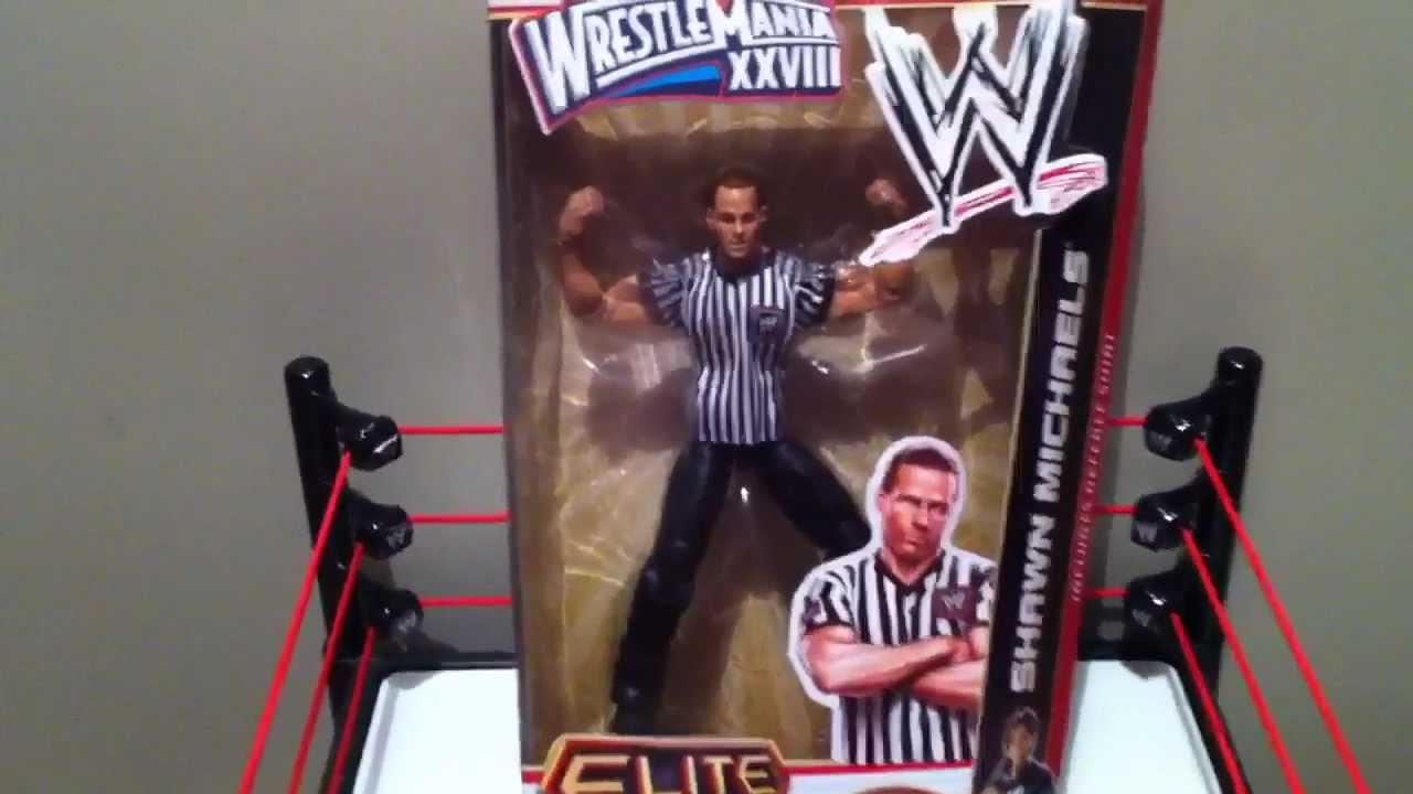 Wwe action insider wm28 hbk shawn michaels elite referee mattel wwe action insider wm28 hbk shawn michaels elite referee mattel grims toy show youtube m4hsunfo Image collections