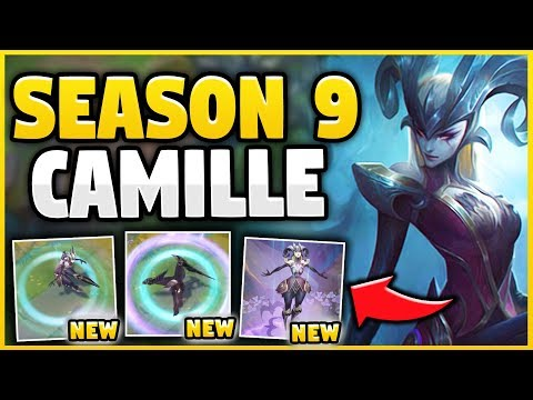 SEASON 9 CAMILLE IS INSANELY STRONG! NEW *ULTIMATE* COVEN CAMILLE SPOTLIGHT! - League of Legends