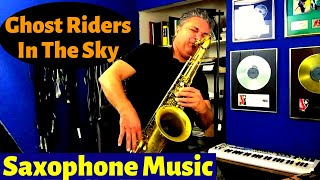 Ghost Riders in the Sky Saxophone Music