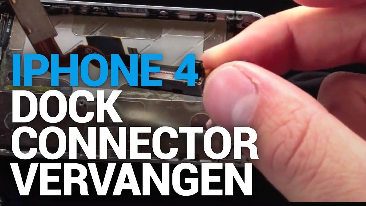 iphone dock connector vervangen