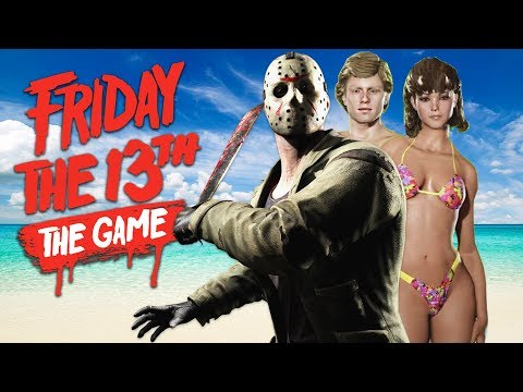 NEW SPRING BREAK DLC!! (Friday the 13th Game)