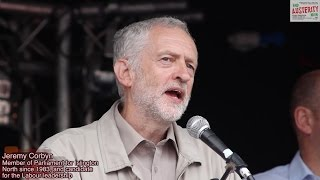 Jeremy Corbyn - End Austerity Now - June 20th 2015