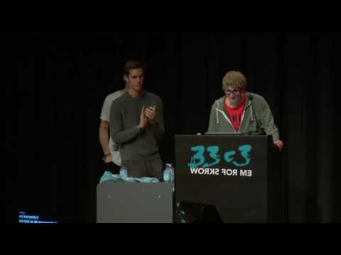 Nintendo Hacking 2016 (33c3) - deutsche Übersetzung