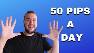 50 PIPS A DAY - Forex Trade Review