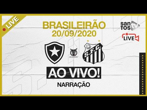 🔴 AO VIVO: BOTAFOGO 0 x 0 SANTOS | BRASILEIRÃO (20/09/20)