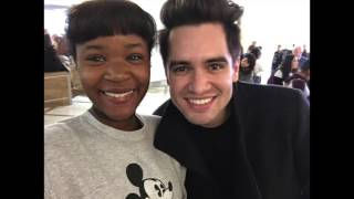 Meeting Brendon Urie at the Airport