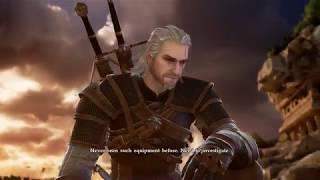 SoulCalibur VI Geralt gameplay arcade mode(PC)[HD]