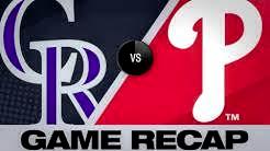 Harper's go-ahead HR powers Phillies to win - 5/19/19