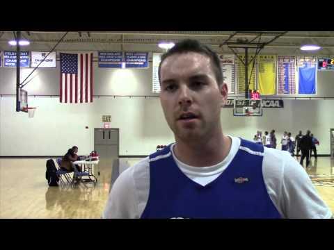 Ryan Mickiewicz interview men's basketball season preview