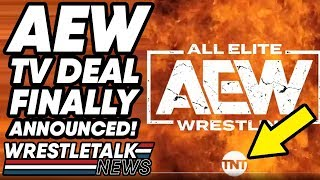 AEW All Elite Wrestling TV Deal ANNOUNCED! WWE Has COMPETITION! | WrestleTalk News May 2019