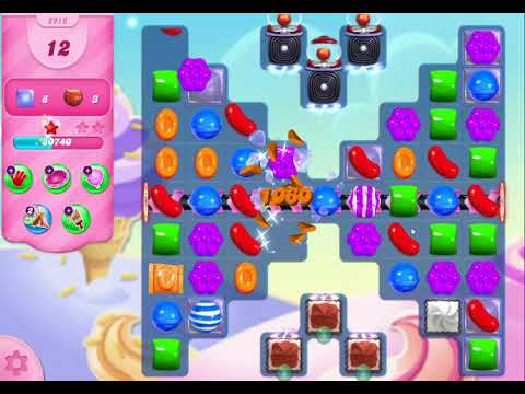 Candy Crush Saga Level 2917 NO BOOSTERS