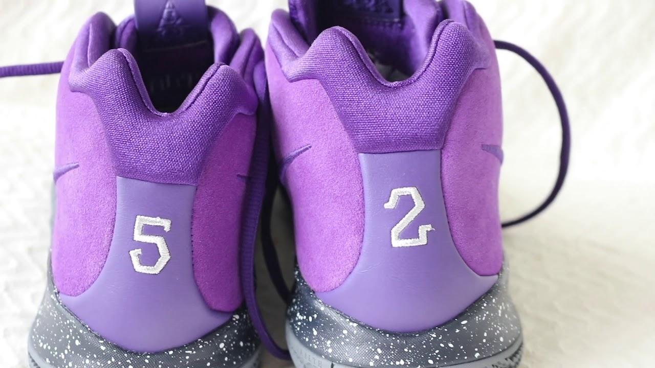 8a31bda9867a Nike I.D Kyrie 4  Sneaker Review - YouTube