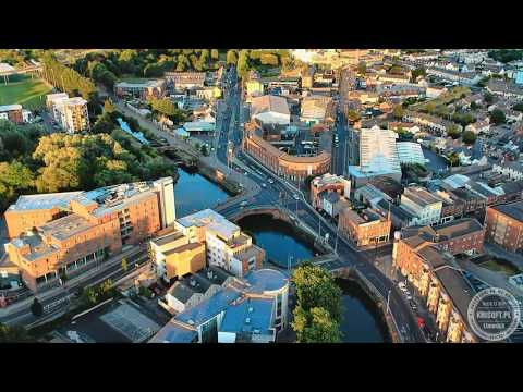 Limerick Scenic Views from drone with relaxing music