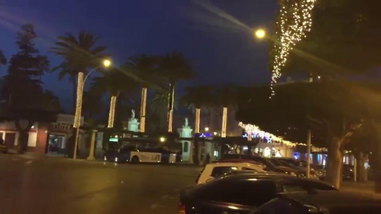 Melilla Spanien zu Weihnachten / Christmas Impressions - YouTube