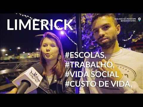 Morar e Trabalhar em Limerick, Irlanda | Ponto de vista dos Brasileiros (2016)