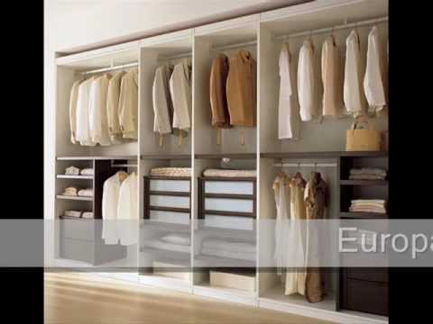 Ideas y decoracion de closets, walk in closets, decoracion. - YouTube