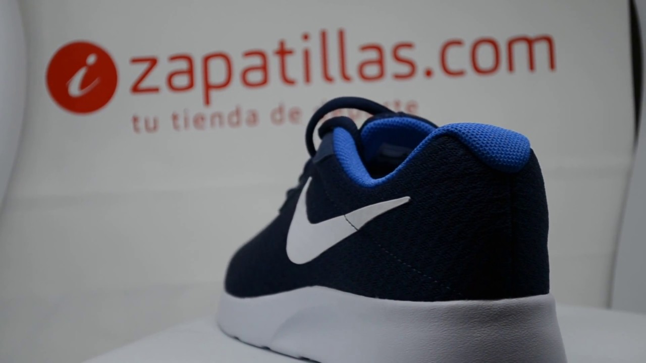 Tienda Zapatilla Nike Tanjun Negras Valencia 53,64€ YouTube