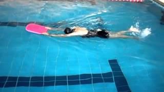 一對一 十堂課 自由式 游泳教學  鳳娟