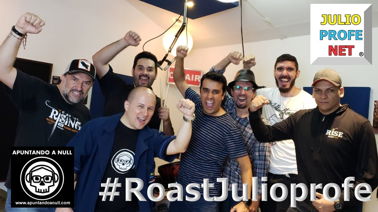 ROAST YOURSELF CHALLENGE - JULIOPROFE