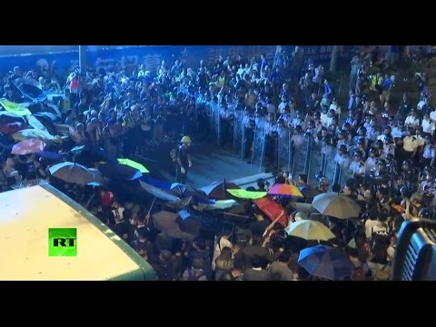 Hong Kong protesters rally against Beijing's initiative to amend local laws (streamed live)