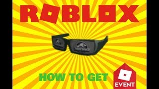 [CODE] WIE DIE JURASSIC WORLD SHADES (ROBLOX) GET THE JURASSIC WORLD SHADES