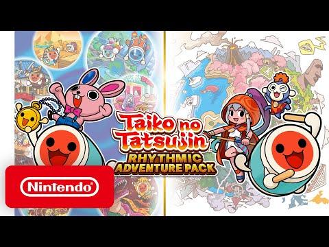 Taiko no Tatsujin: Rhythmic Adventure Pack – Announcement Trailer – Nintendo Switch