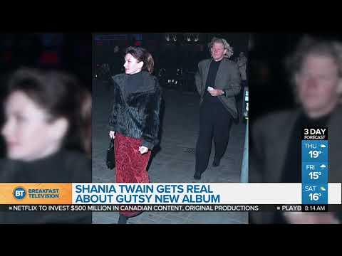 Shania Twain lets her guard down on new...