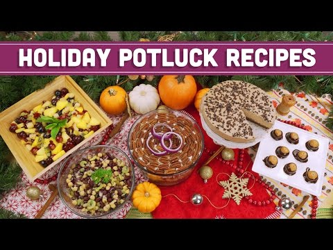 Vegan & Vegetarian Holiday Potluck Recipes! – Mind Over Munch