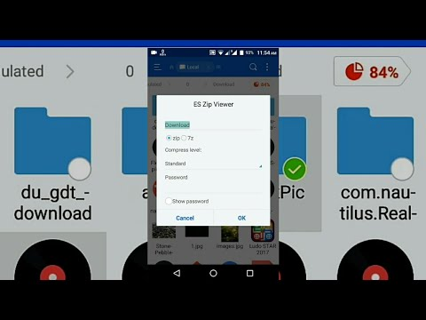 #.zip How To Create .zip File On Android
