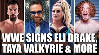 WWE Signs Eli Drake LA Knight Taya Valkyrie Blake Christian Harlem Bravado to NXT